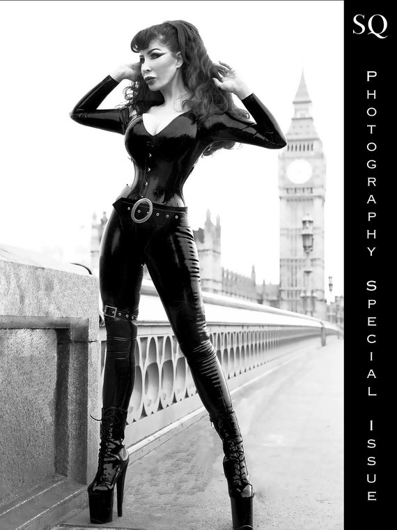 SQ magazine Photography Special Issue - Latex Clothes ShinyQueens
