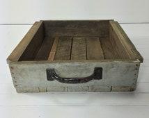 Vintage Wooden Drawer. Modern Farmhouse Wooden Drawer. Distressed Wooden Drawer. Shabby Chic Wooden Drawer. Repurposed Wooden Drawer.