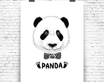 Art Print PANDA
