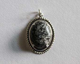 Black Granite Pendant