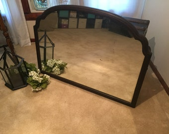 Large Antique Mirror (local pickup only)