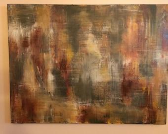 "Acrylic Paintings ""Storm at Sea"""