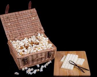 White Chocolate and Vanilla Popcorn 1kg