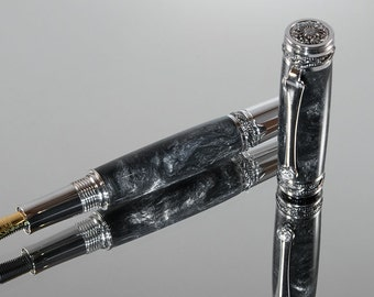 Handcrafted Fountain Pen - The Majestic