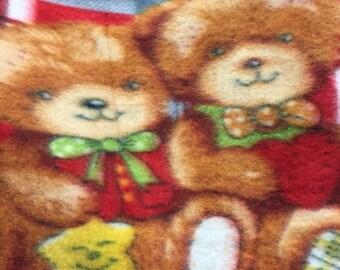 Teddy Bear Polar Fleece Fabric by the Yard