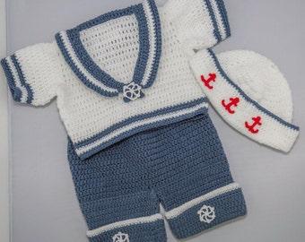 Sailor suit baby 6 months
