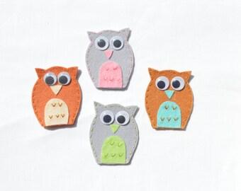 owl finger pupet