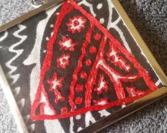 red bandana necklace