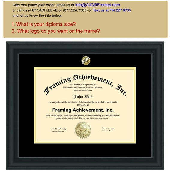 Diploma Frames University Certificate Frame College