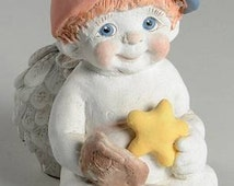 Dreamsicles Angel Figurine Catching a Falling Star