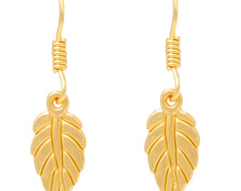 vogue treasure delight gold plated eaarings