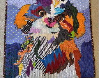Shih-tzu hand made wall hanging.