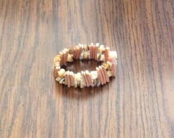 7 inch beaded bracelet