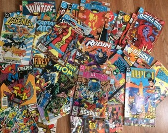 DC Comics from the 80s