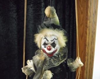 Creepy Jack The Swinging Clown