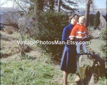 Smiling Girl - April 1979 - 35mm Slide Photograph