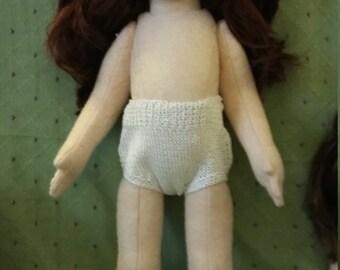 """18"""" doll handknitted underwear"""