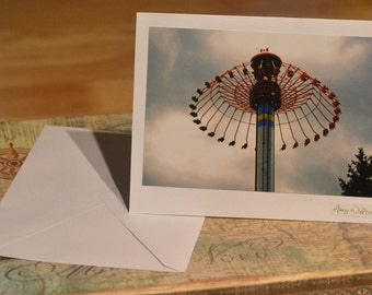 Homemade Photography Card with Envelope