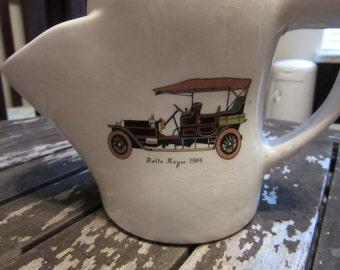 Antique and vintage shaving scuttle mug