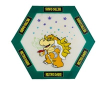 King Koops Non-Stick Dab Mat, 5 Inch Hexagon Sides and 10 Inch Diameter