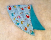 My Little Chirp, Baby Burp Cloth, Gender Neutral, Bird Print, Baby Shower, Baby Shower Gift Ideas, New Baby Gift