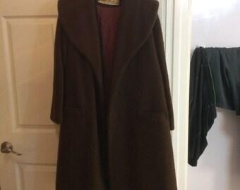 Vintage 1950s Lilli Ann Mohair Coat