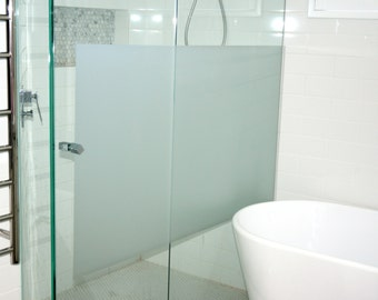 frosted window film 12200mm x 500mm cut to size - Frosted Window Film