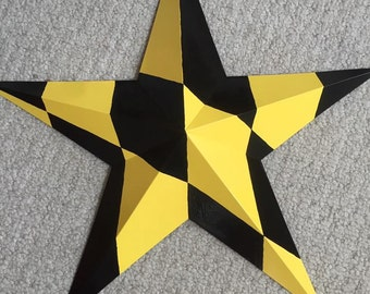 Maryland Themed Barn Star