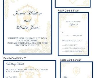 World of Warcraft Wedding, Warcraft Invitation, Warcraft Printable, Alliance Wedding, Warcraft Decoration, WOW Wedding, WOW Decoration