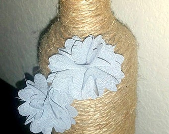 Burlap String Wine Bottle