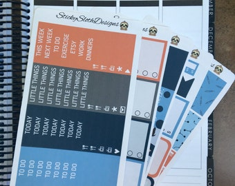 Grey's Anatomy Weekly Kit (109 Planner Stickers)