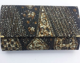 Brown Clutch