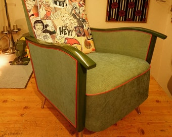 Custom design, original 1950's Armchair