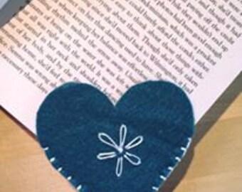 Love Heart Bookmark