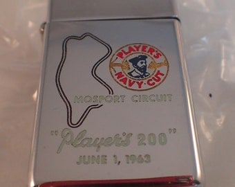Early 60's PLAYER'S 200 Promotional Zippo Lighter