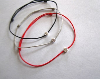 Zirconium bracelet