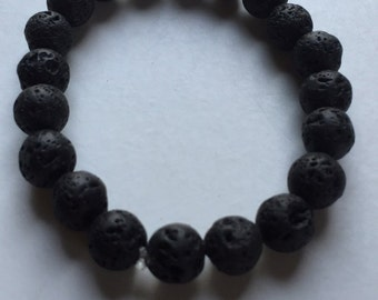 Men's Lava Stone 10mm Bracelet