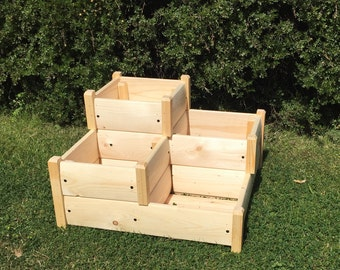 Three Tiered Planter (Free Delivery) garden planter, outdoor planter