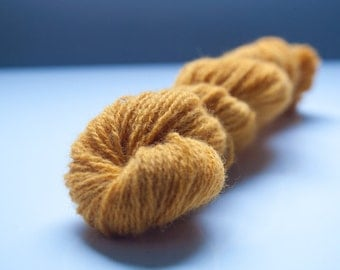 Naturally dyed yarn - Marigolds