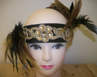 Theatrical showgirl 1940s/70 headdress