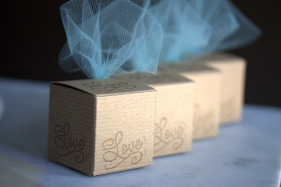 Do it yourself wedding favor boxes, DIY wedding favor box kits, gifts ...