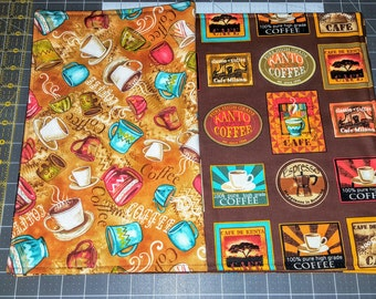 Placemats, Reversible and padded