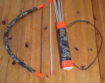 Camo Bow and Arrows