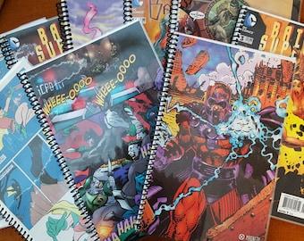 Custom Comic Book Notebook