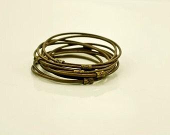 Basic Brwon Bracelet