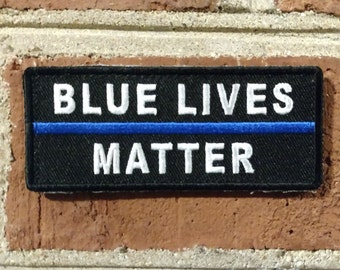 Blue Lives Matter (Blue Line) - Morale/Tactical Patch