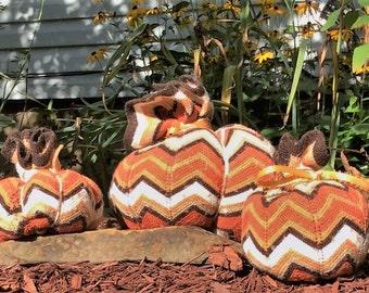 Chevron sweater pumpkins