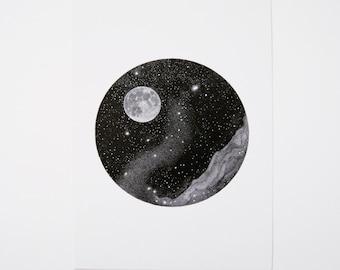 Hello Moon! - A5 Print
