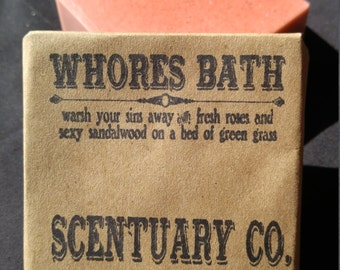 Whores Bath Soap