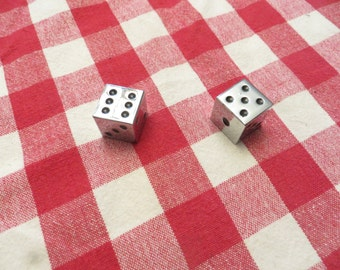 2 casino chrome dice lucky number seven eleven w/ free ship